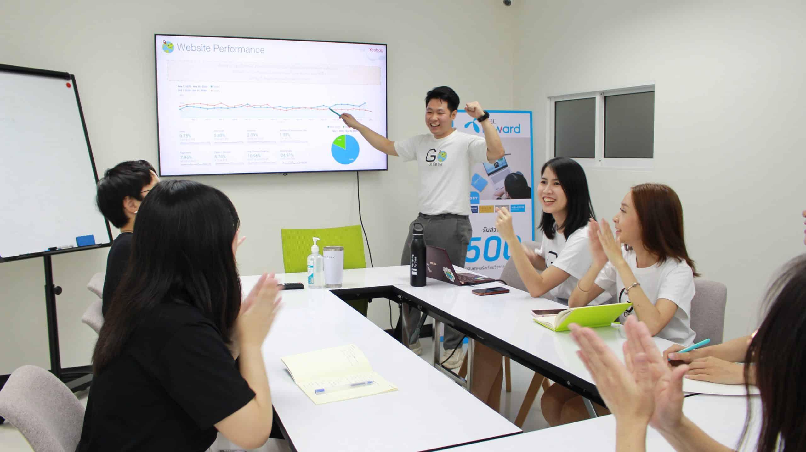 หางานเอเจนซี่ การตลาดออนไลน์ Go Online Thailand
